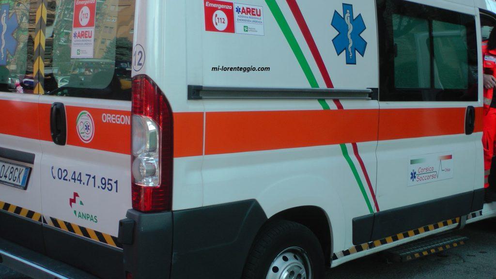 Milano. Incidente in via Gozzoli, ferito motociclista