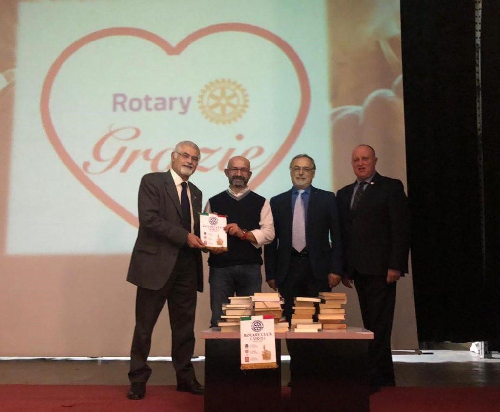 Tromello (Pavia). ll Rotary Club Cairoli ha donato circa 70 libri - Mi-Lorenteggio