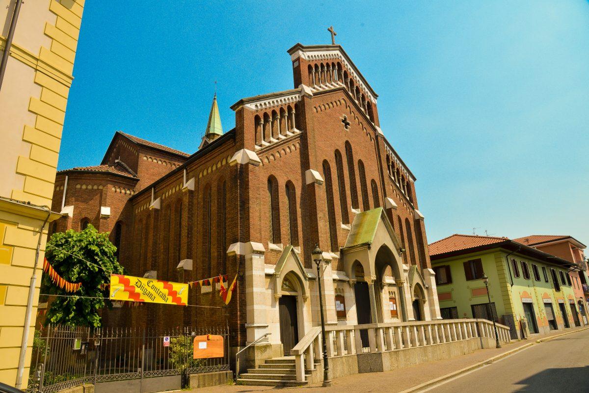 Chiesa santo crocifisso (foto Comune di Desio)